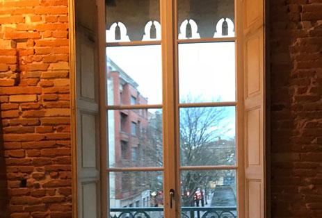menuiserie fenêtre bois Toulouse